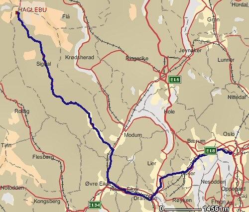 haglebu kart Kjørekart til hytta   Nordmørslaget i Oslo haglebu kart